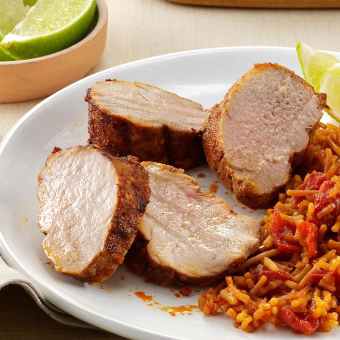 Southwest pork tenderloin recipe