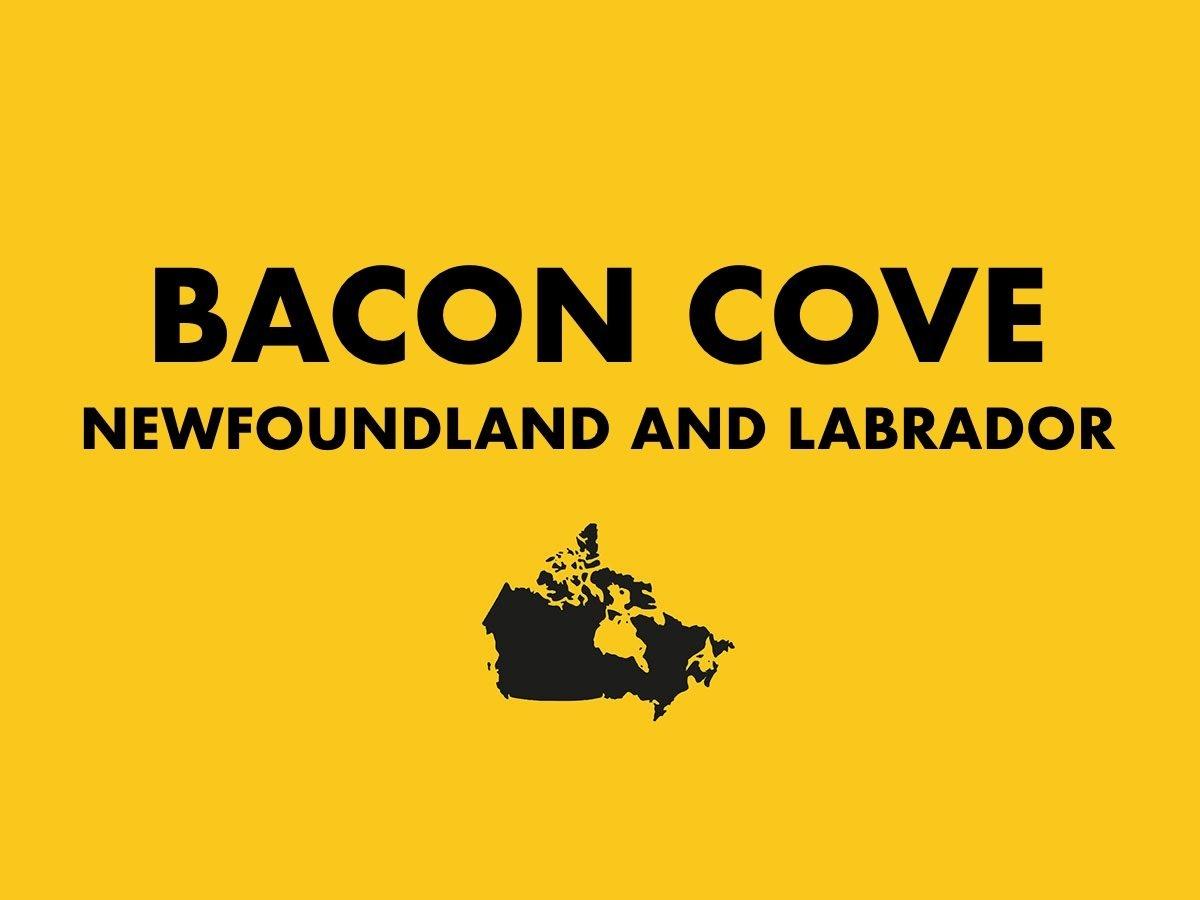 Bacon Cove, Newfoundland and Labrador