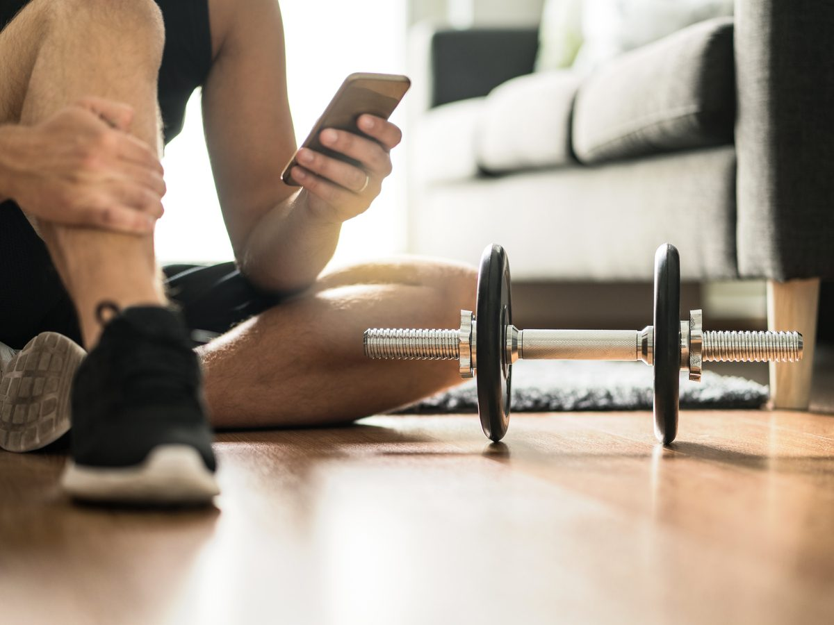 Dumbbells at home