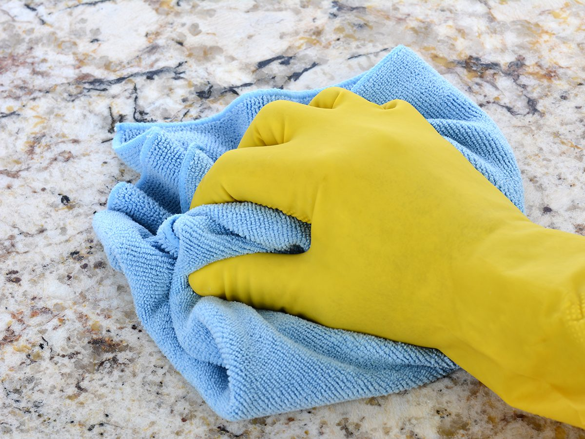 How to clean kitchen countertops, according to Charles the Butler
