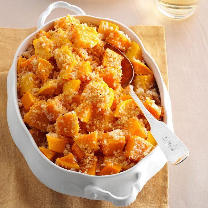 Parmesan butternut squash recipe