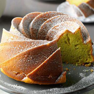 Easy Pistachio Tube Cake