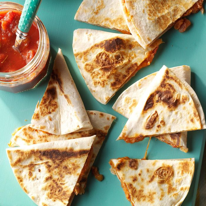 Cheesy quesadillas recipe