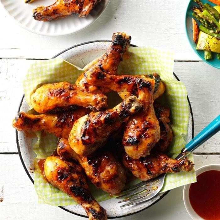 Jalapeno-Lime Chicken Drumsticks recipe