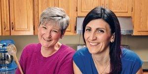 Together, Wendy Singleton (left) and Christy Rogowski run Cakes For Kids