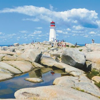 In Praise of the Peggy's Point Lighthouse