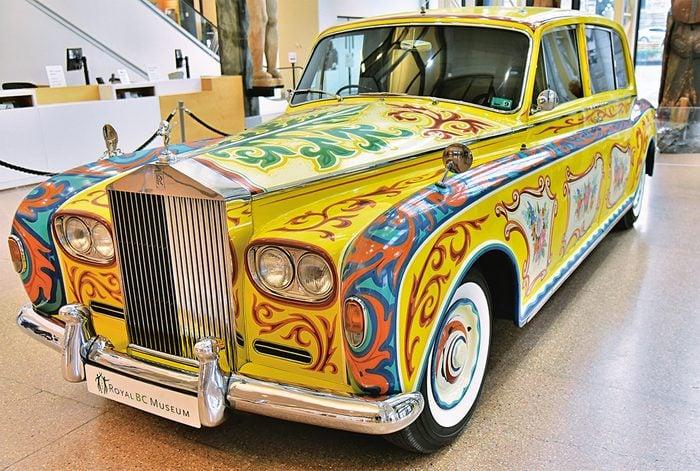 John Lennon Rolls Royce limousine