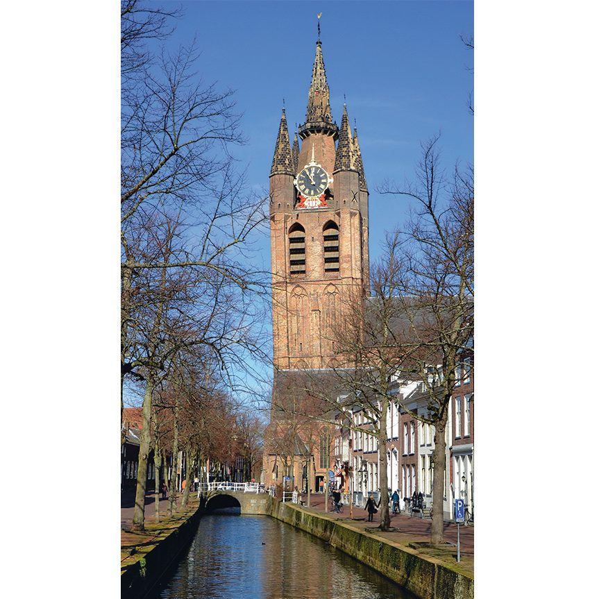 Oude Kerk Protestant Church in Delft