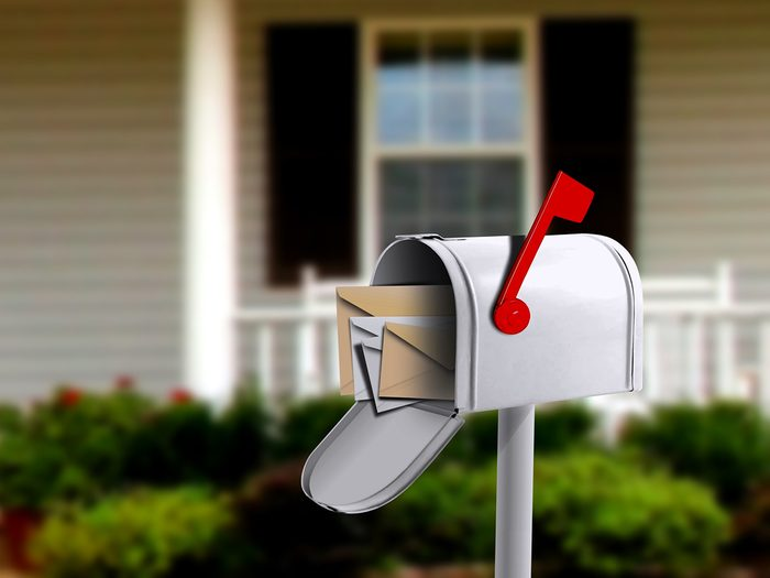 Should you be disinfecting your mail? Mailbox