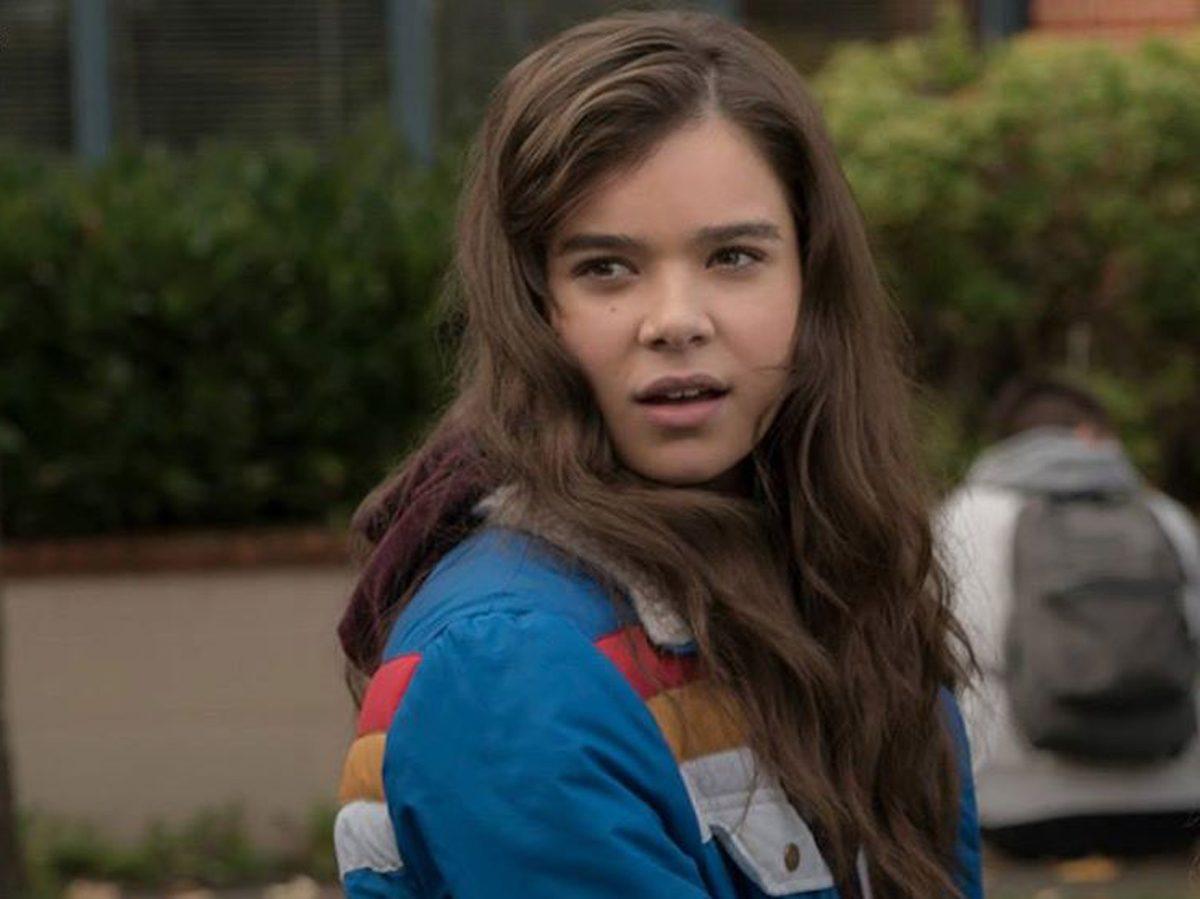 Hailee Steinfeld in The Edge of Seventeen on Netflix Canada