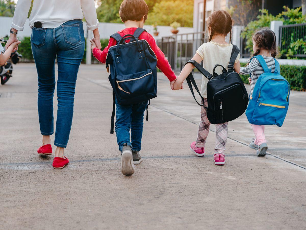 Little children at preschool
