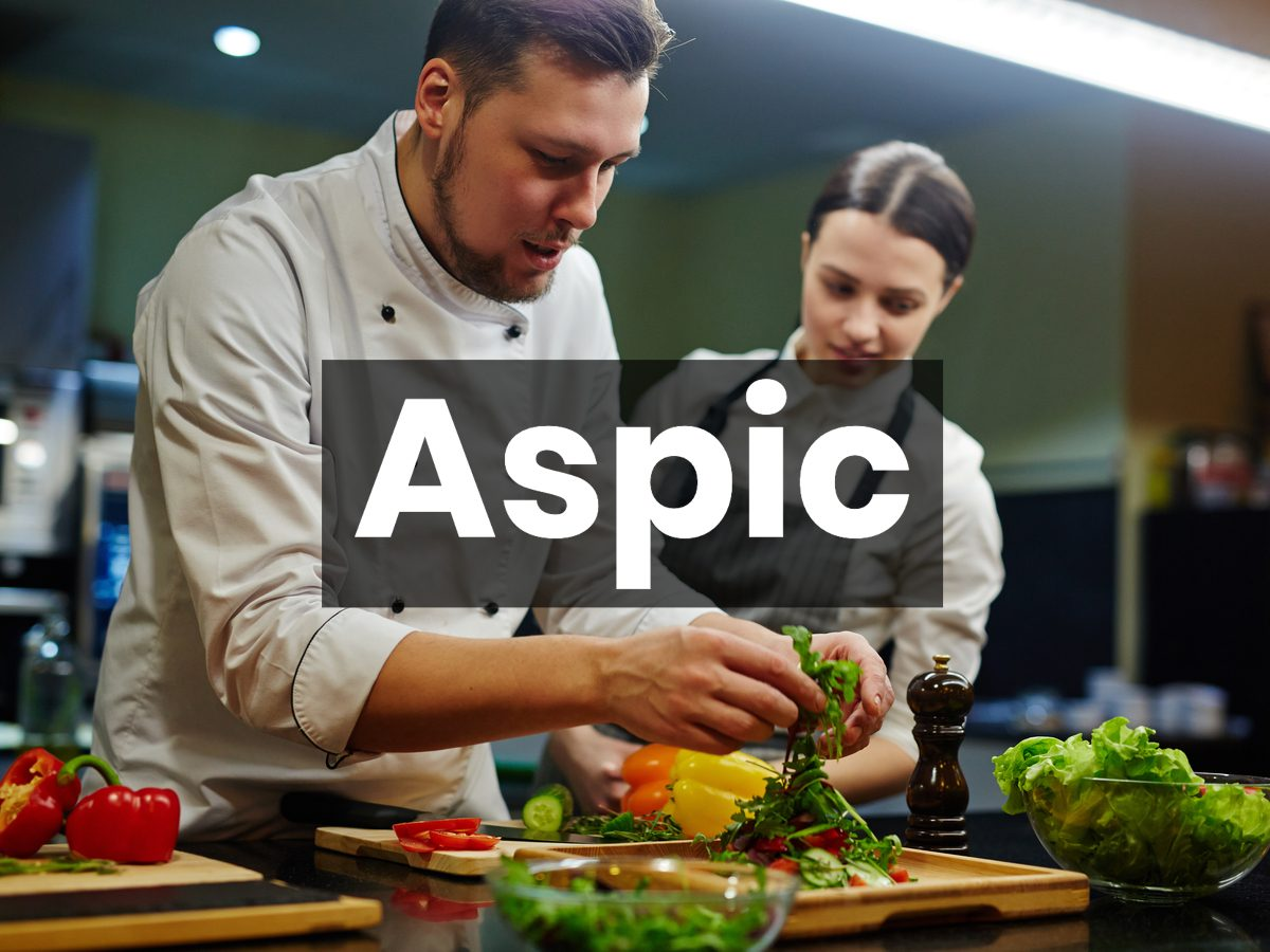 Cooking terms - aspic