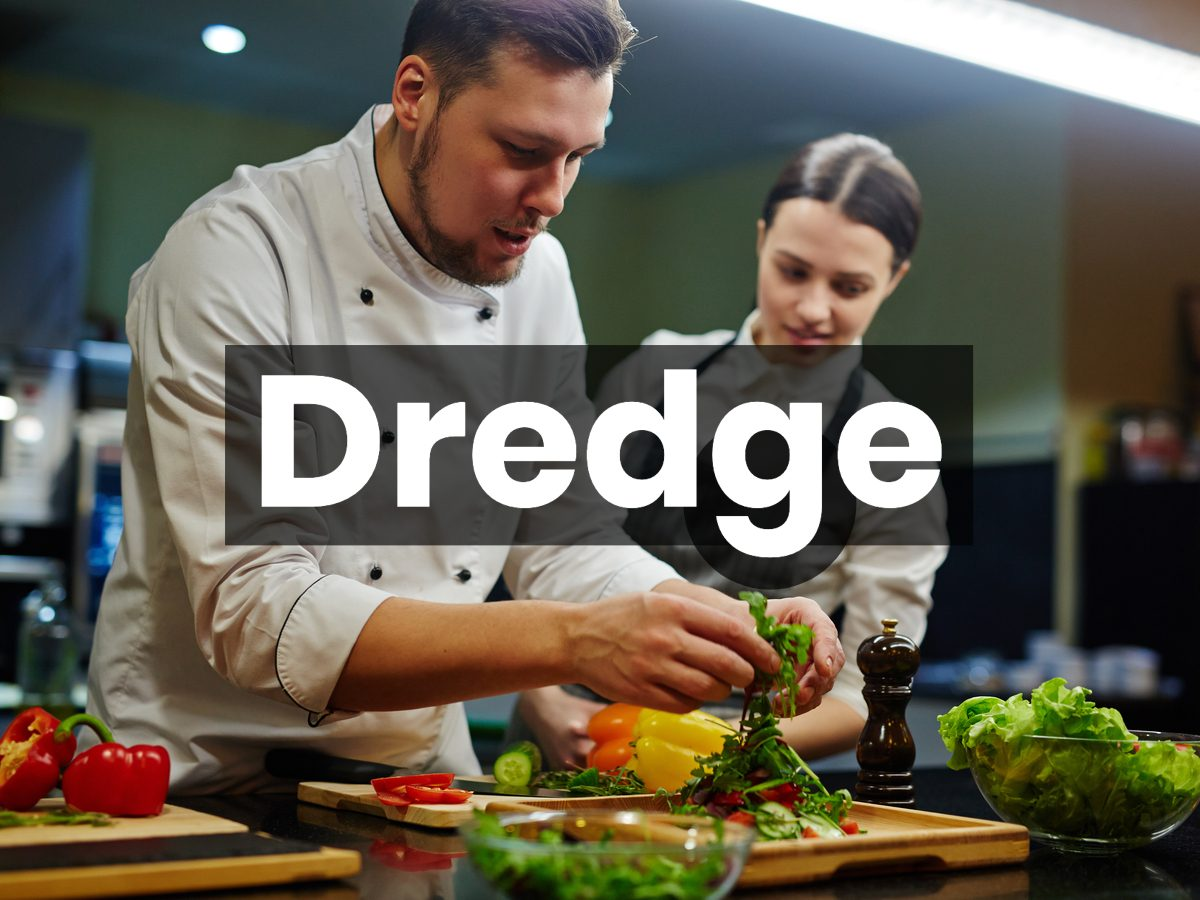Cooking terms - dredge