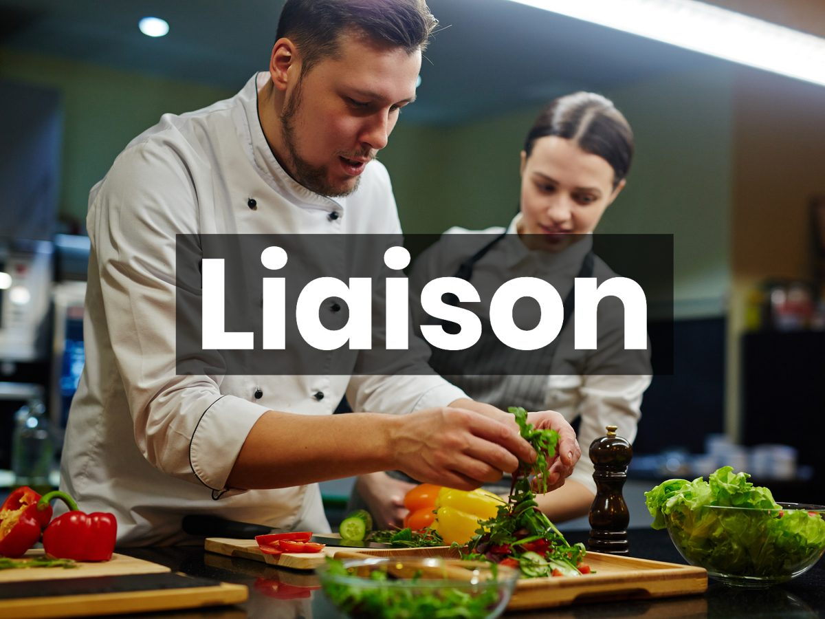 Cooking terms - liaison