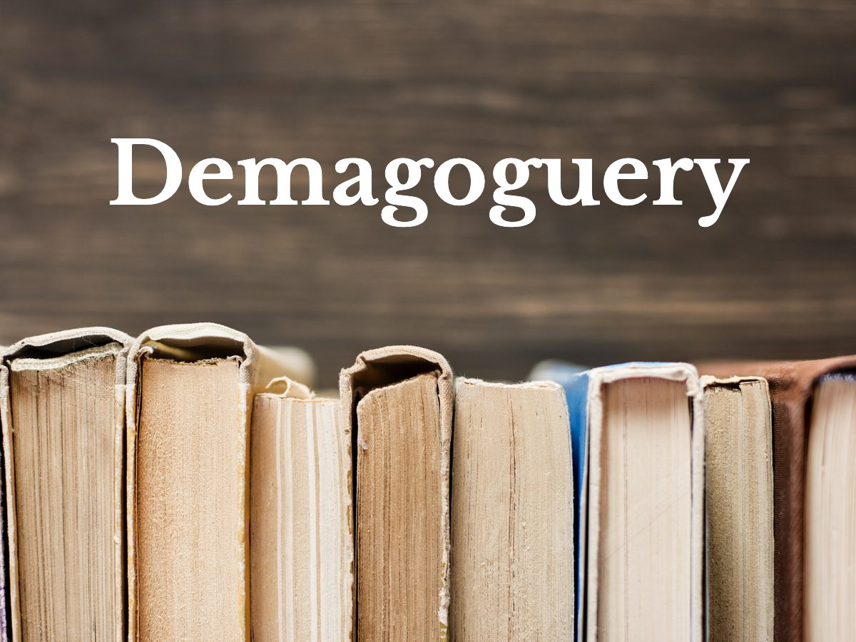 Demagoguery