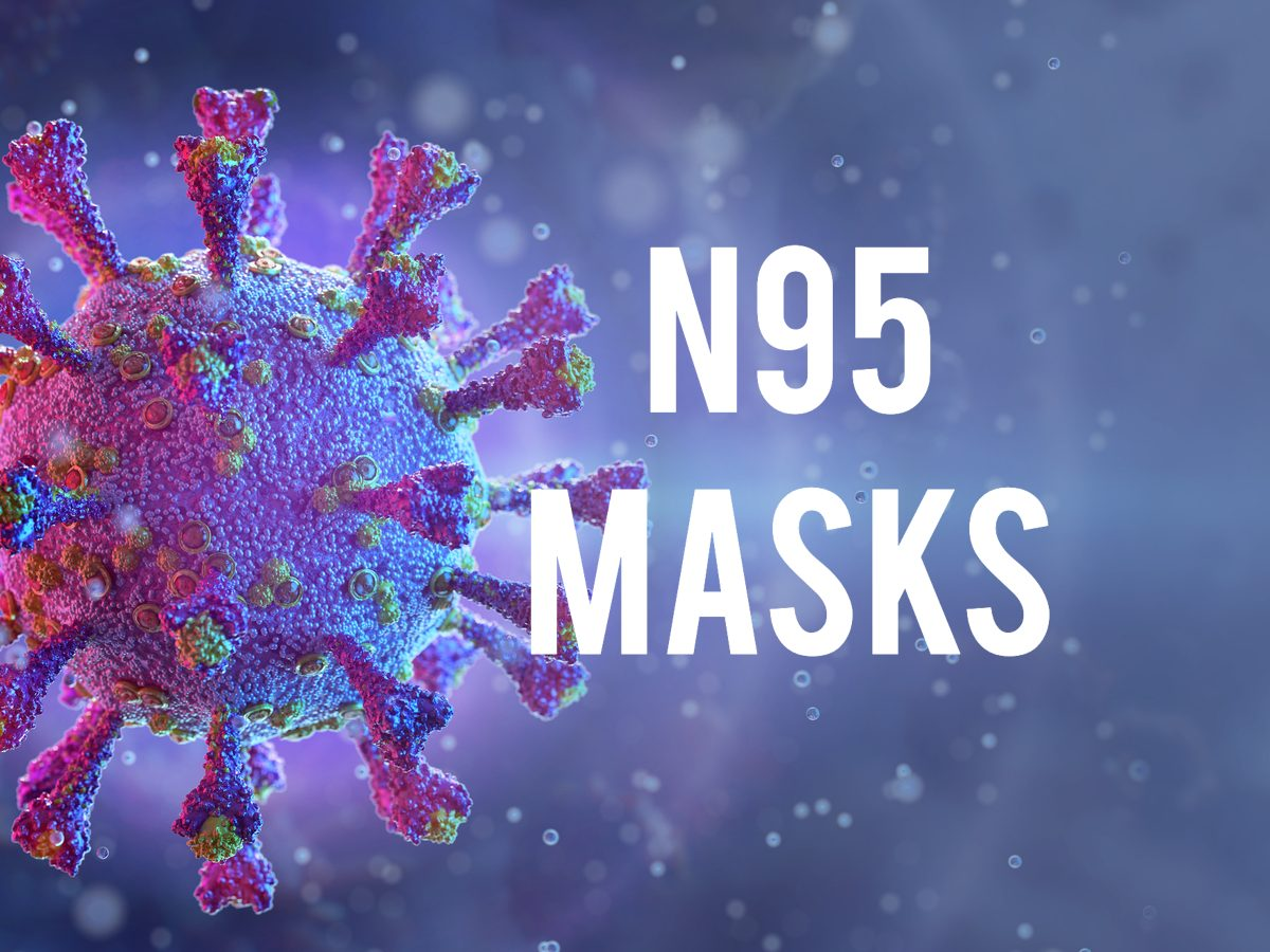 COVID-19 terms - N95 masks