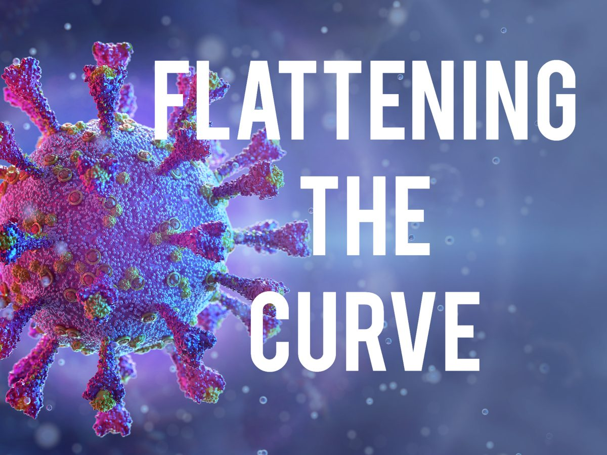COVID-19 terms - flattening the curve