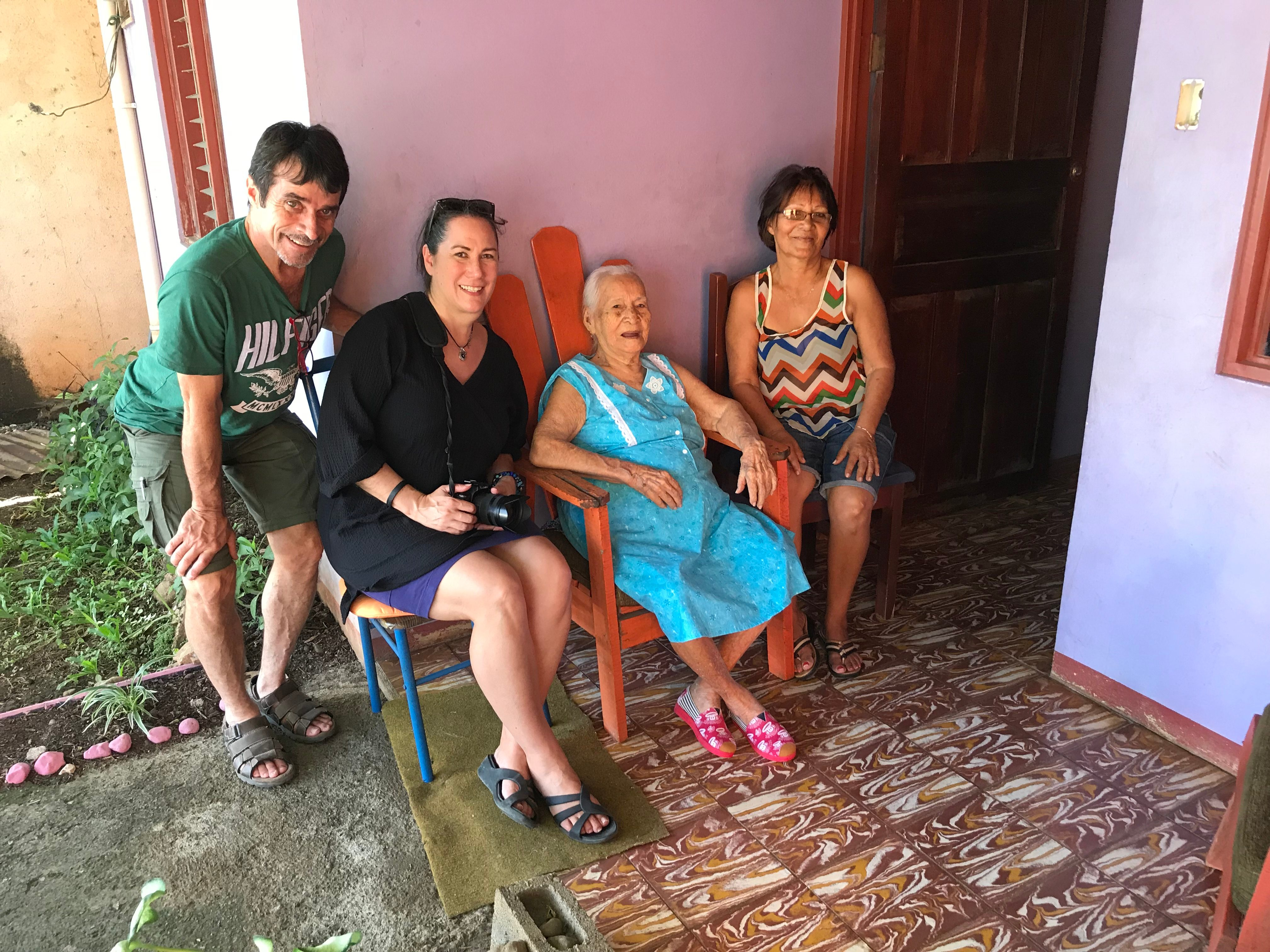 Dominga-Alvarez-Rosales Centenarians 100 years old costa rica blue zone