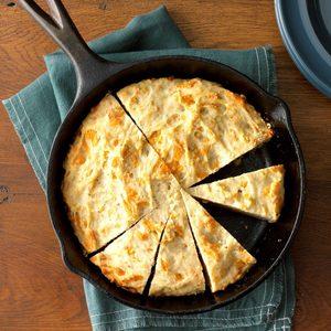 Cheesy Garlic Herb Quick Bread