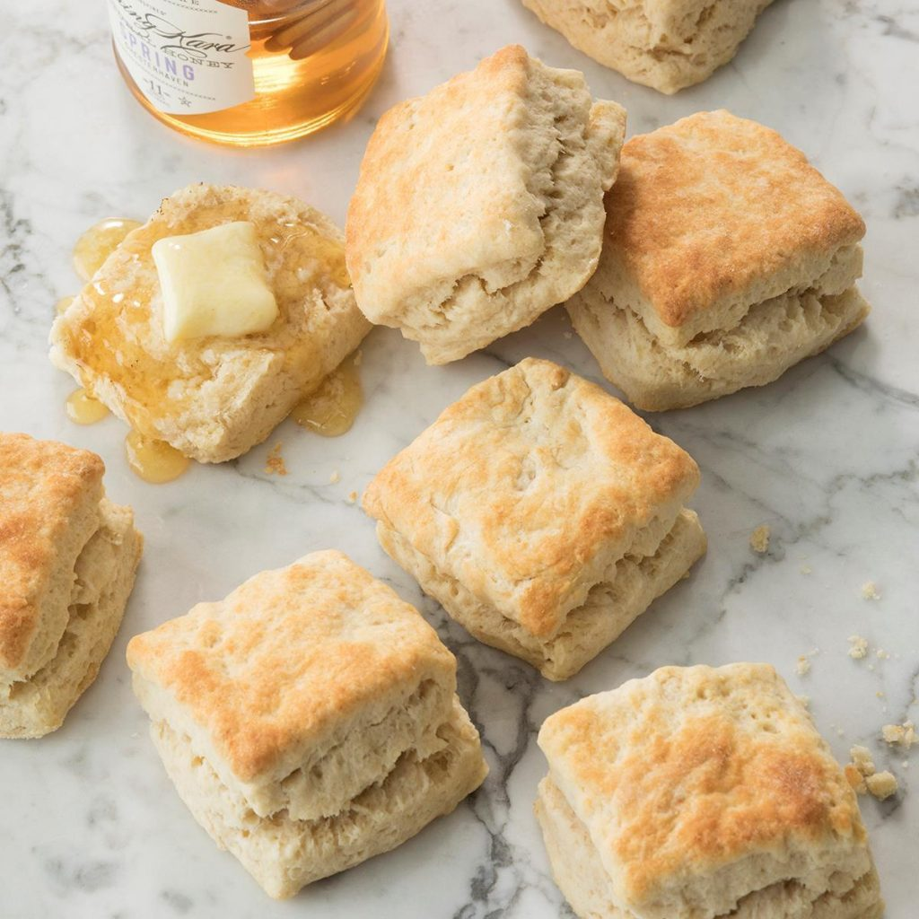 Fluffy biscuits recipe