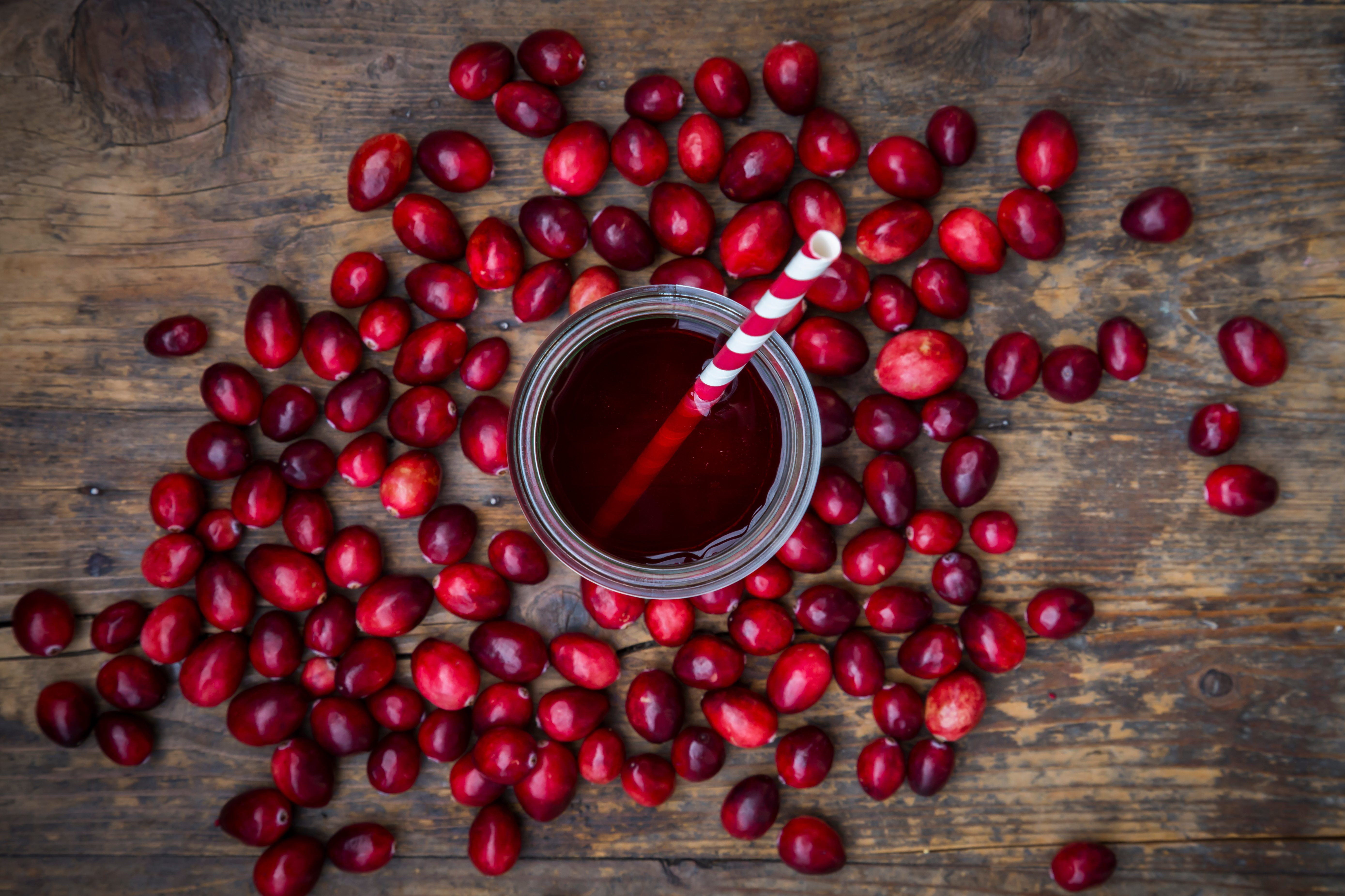 Cranberries and cranberry juice