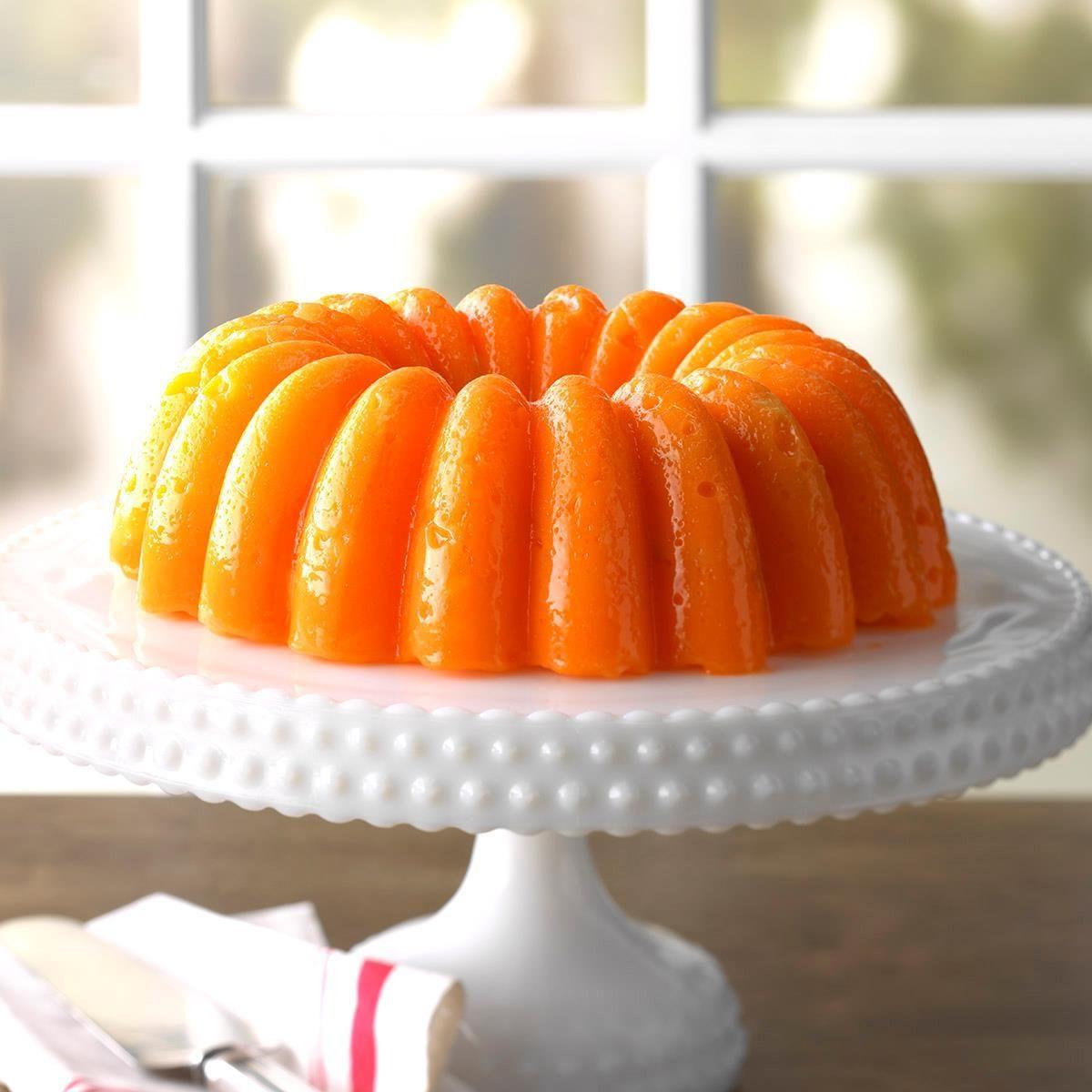 Orange Jell-O