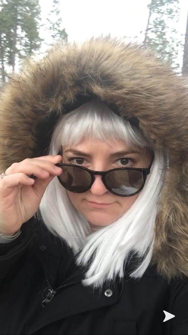 Drama teacher Jessica Davis