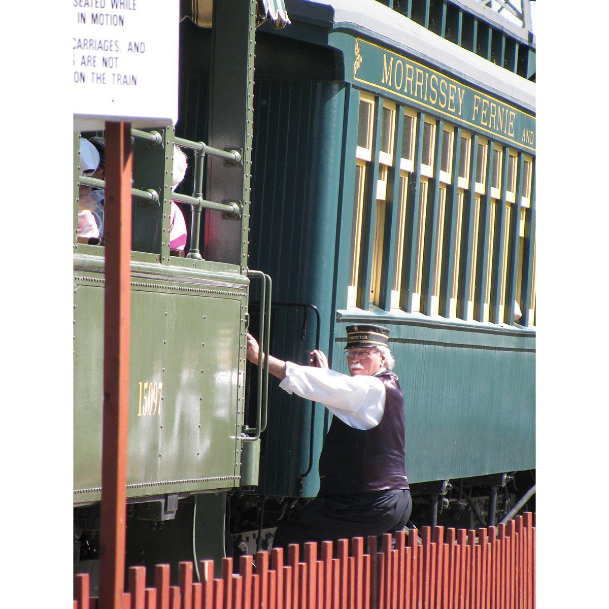 Canadian history - Calgary Heritage Park train