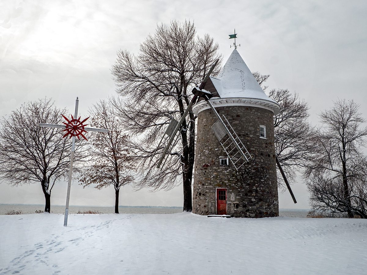 Canadian history - Pointe Claire windmill