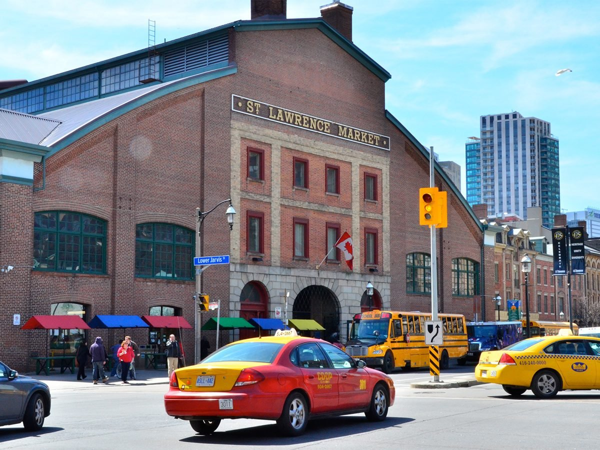 Canadian history - St. Lawrence Market Toronto