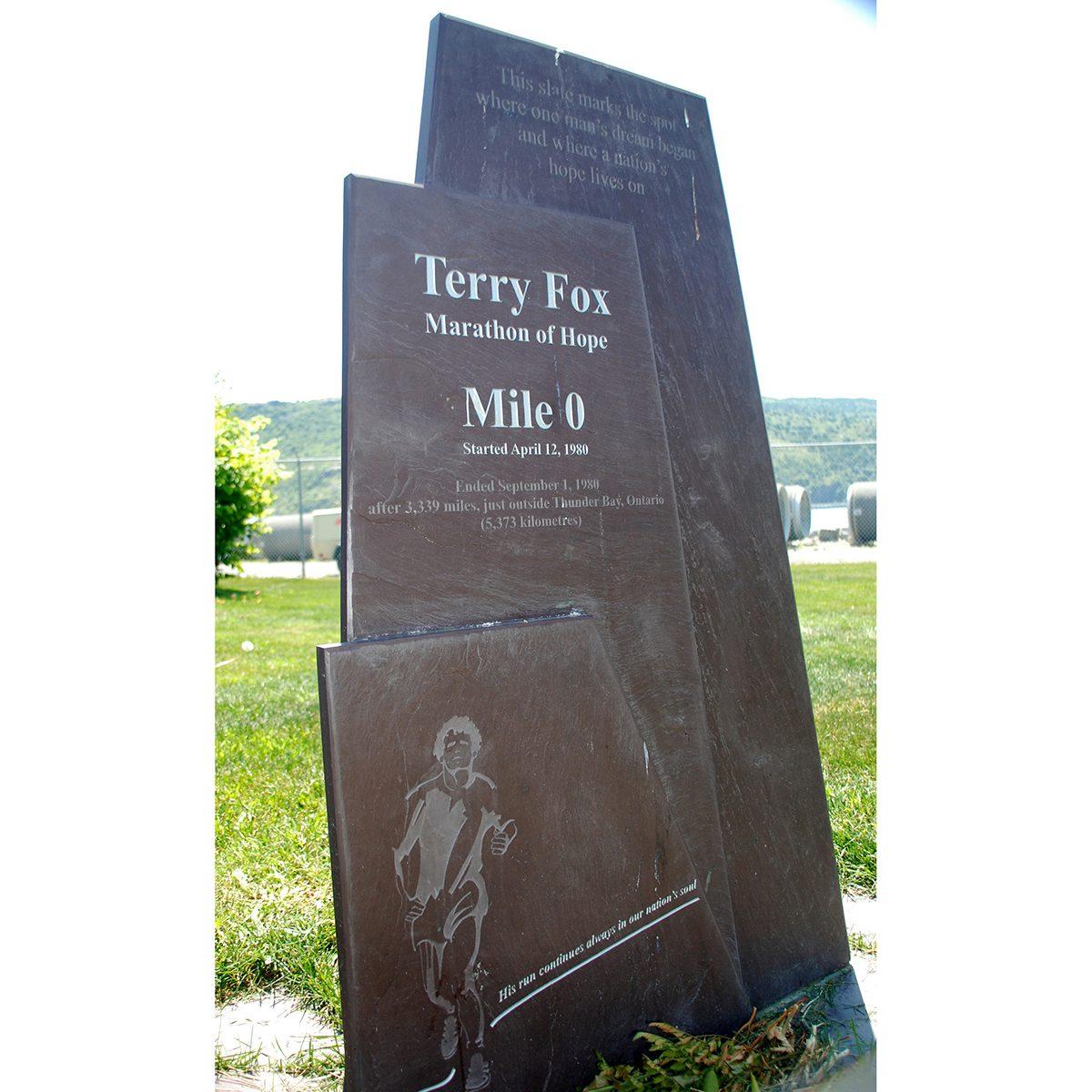 Canadian history - Terry Fox