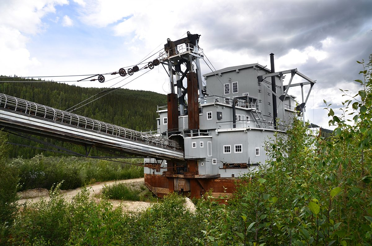 Canadian history - Dawson City historic site