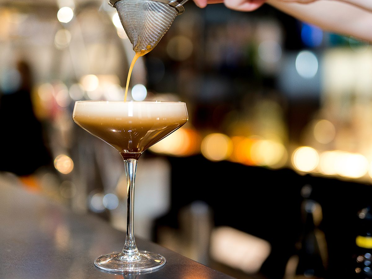 Espresso martini recipe - Nickel 9 Distillery