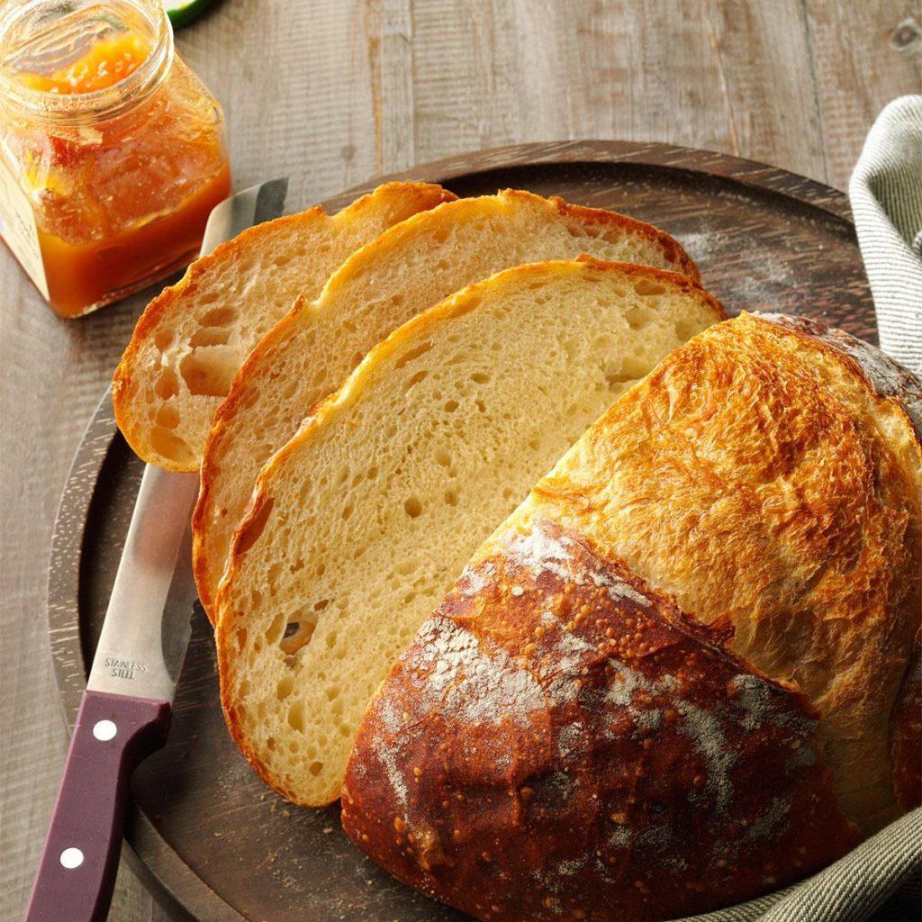Crusty homemade bread recipe