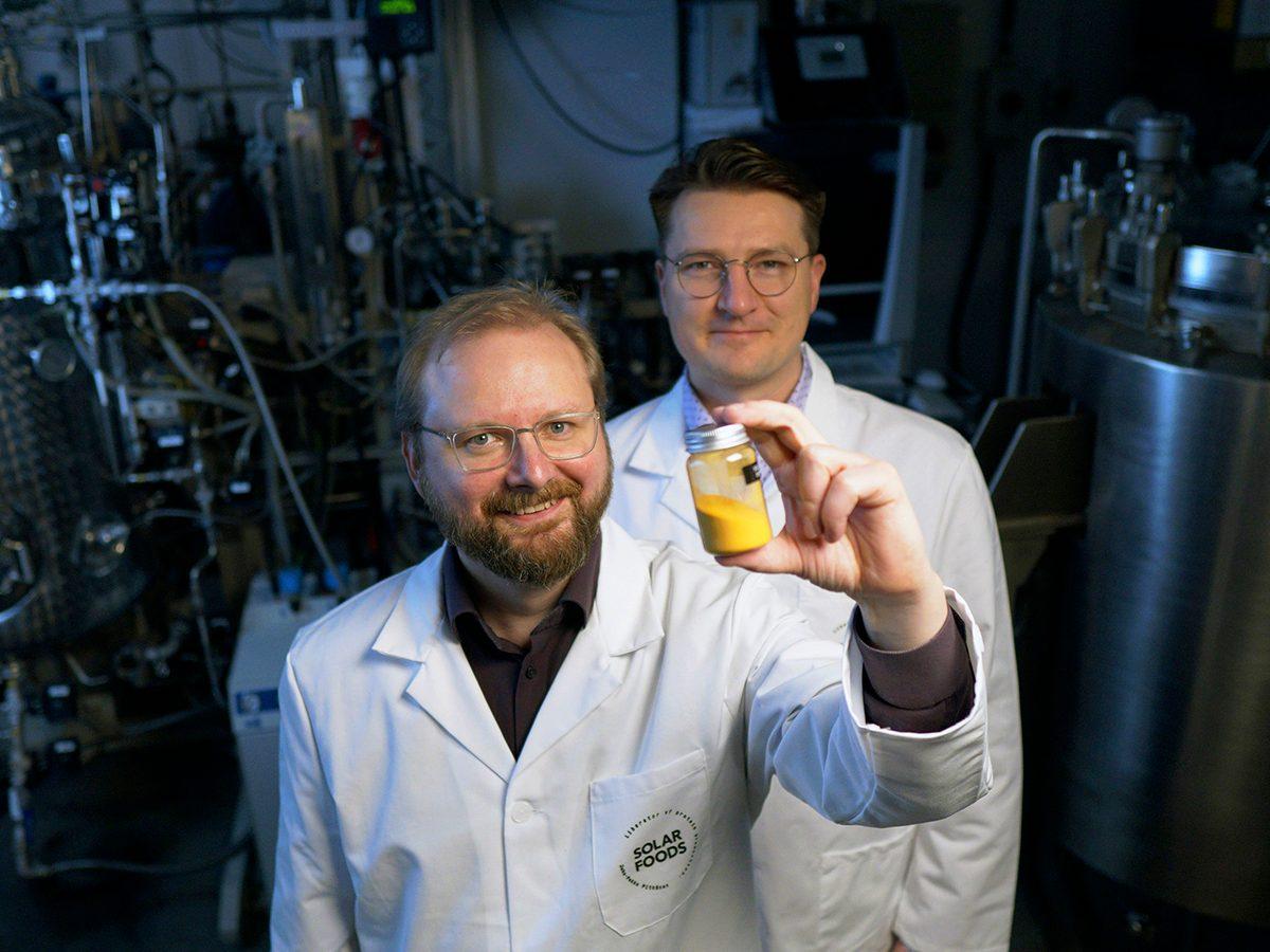 Good news - Solar Foods