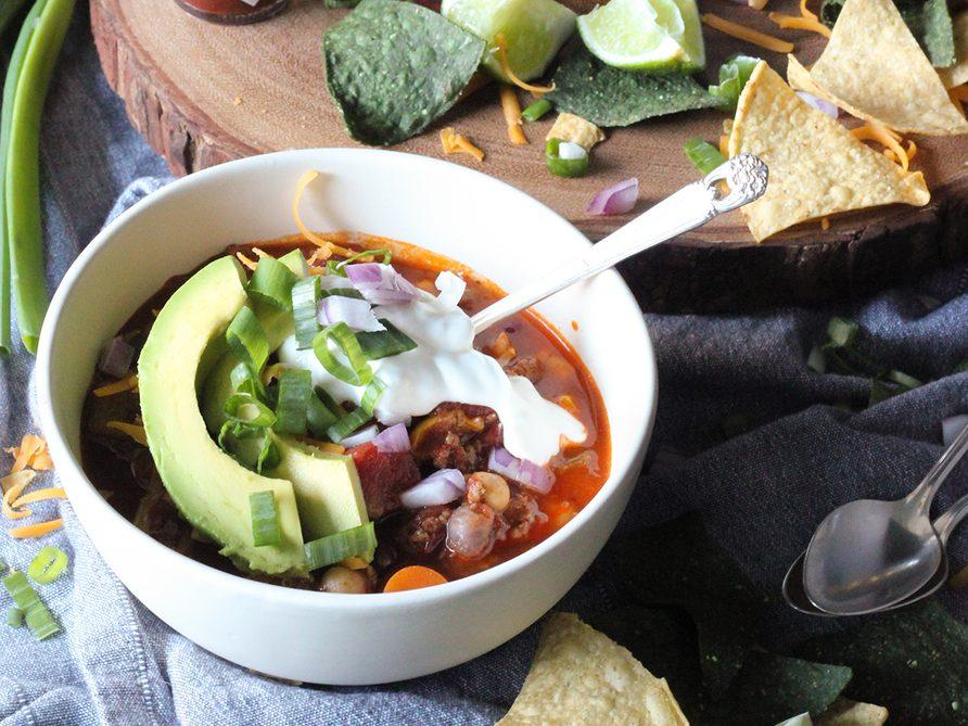Homemade beer chili recipe