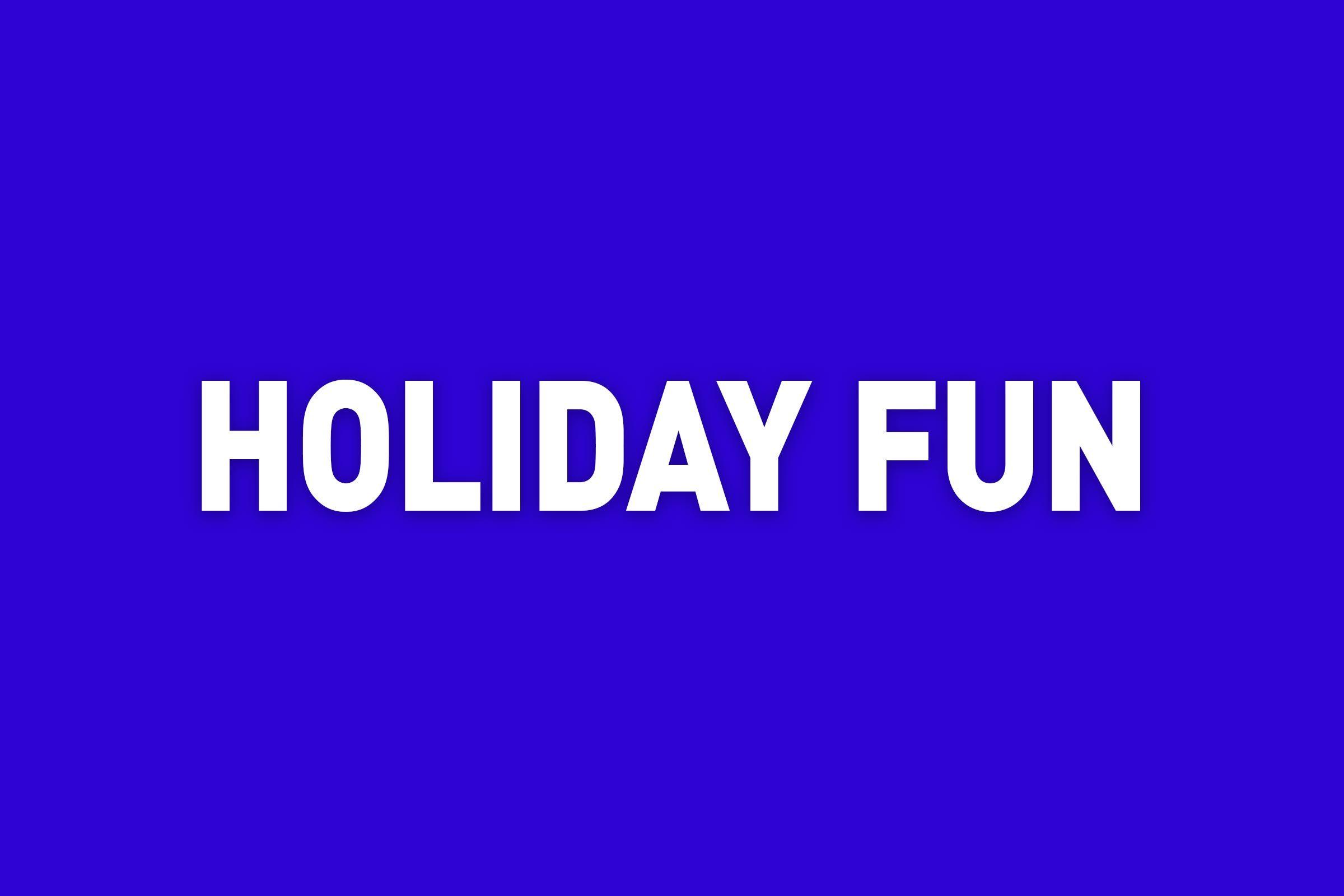 holiday fun jeopardy category