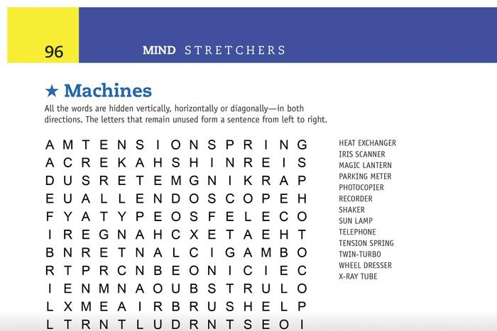 machines word search preview