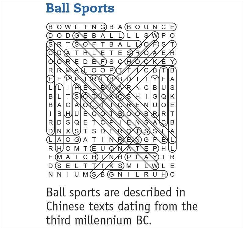ball sports answers