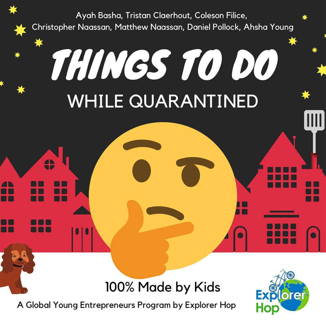 Quarantine activities for kids