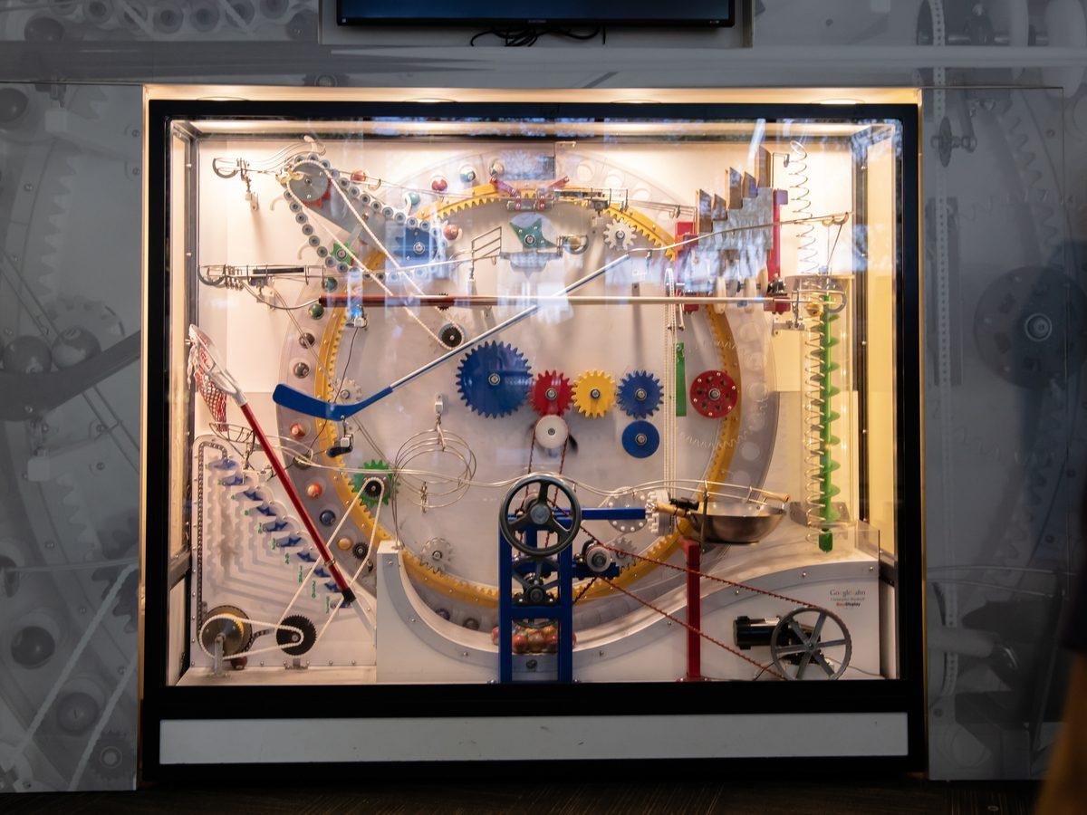 Rube Goldberg Machine in Google Headquarters
