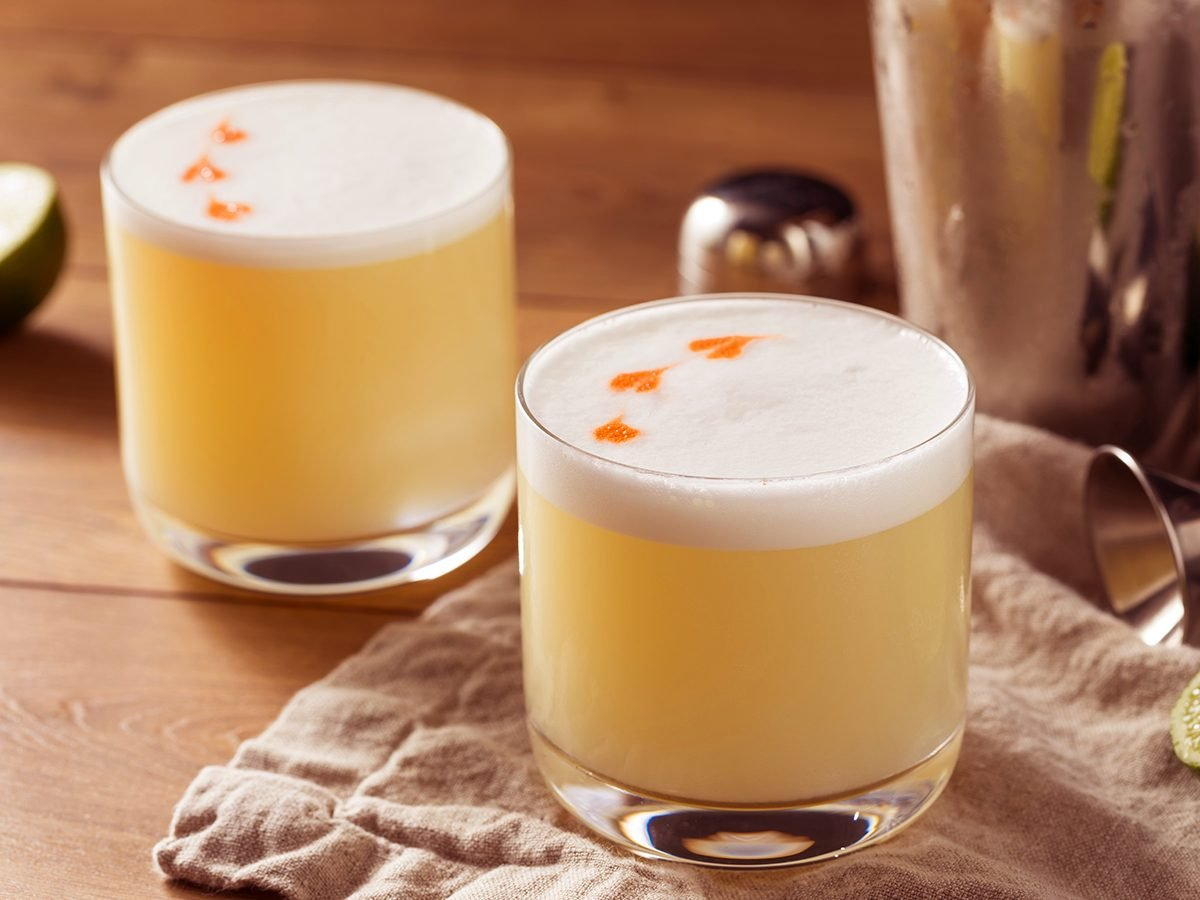 Whisky sour recipe