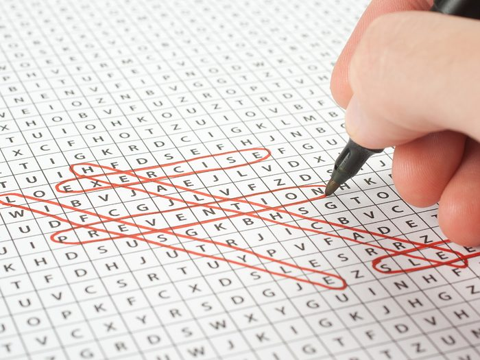 Word Search Printable - word search game