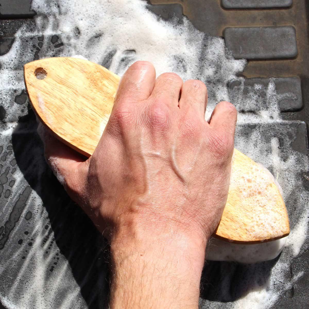 Step 3: Scrub With Soap