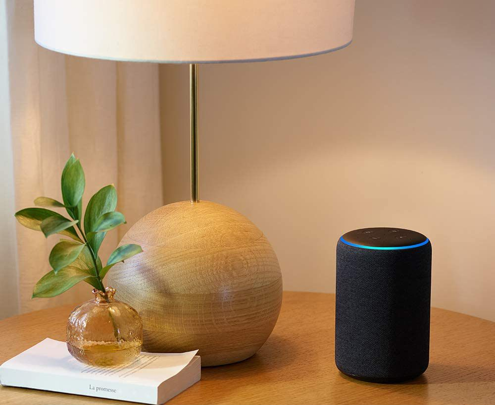 Amazon Echo smart speaker - caring for aging parents