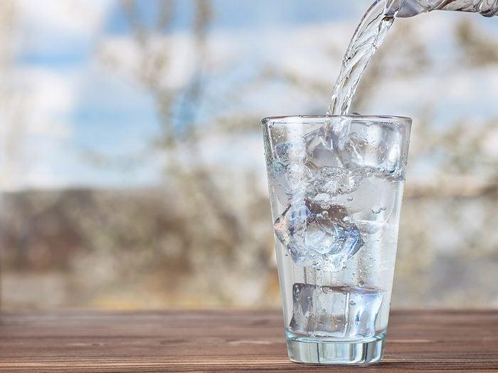 Beat summer heat by drinking water