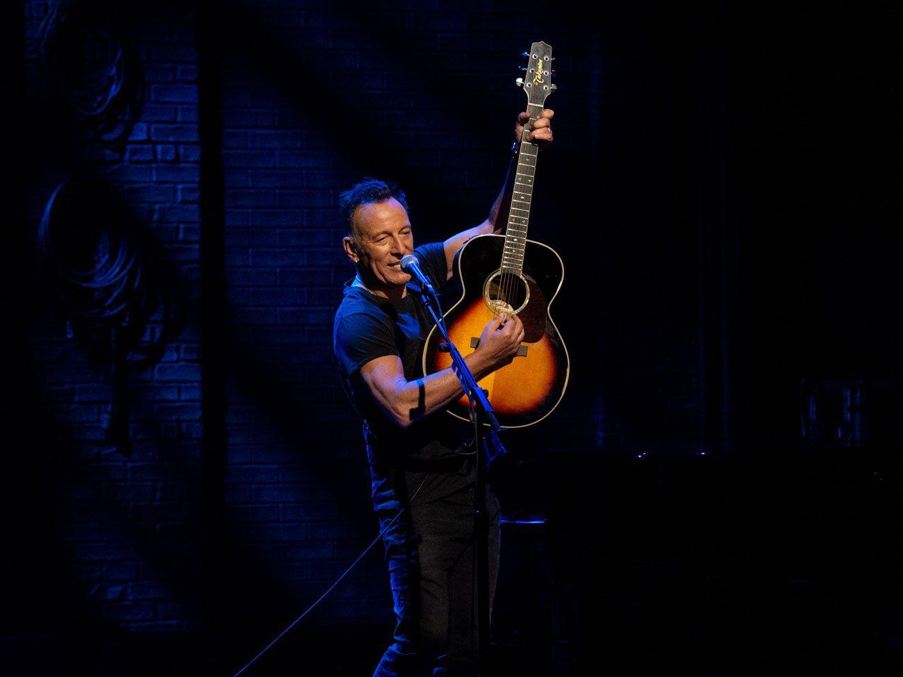 Concert films: Springsteen on Broadway