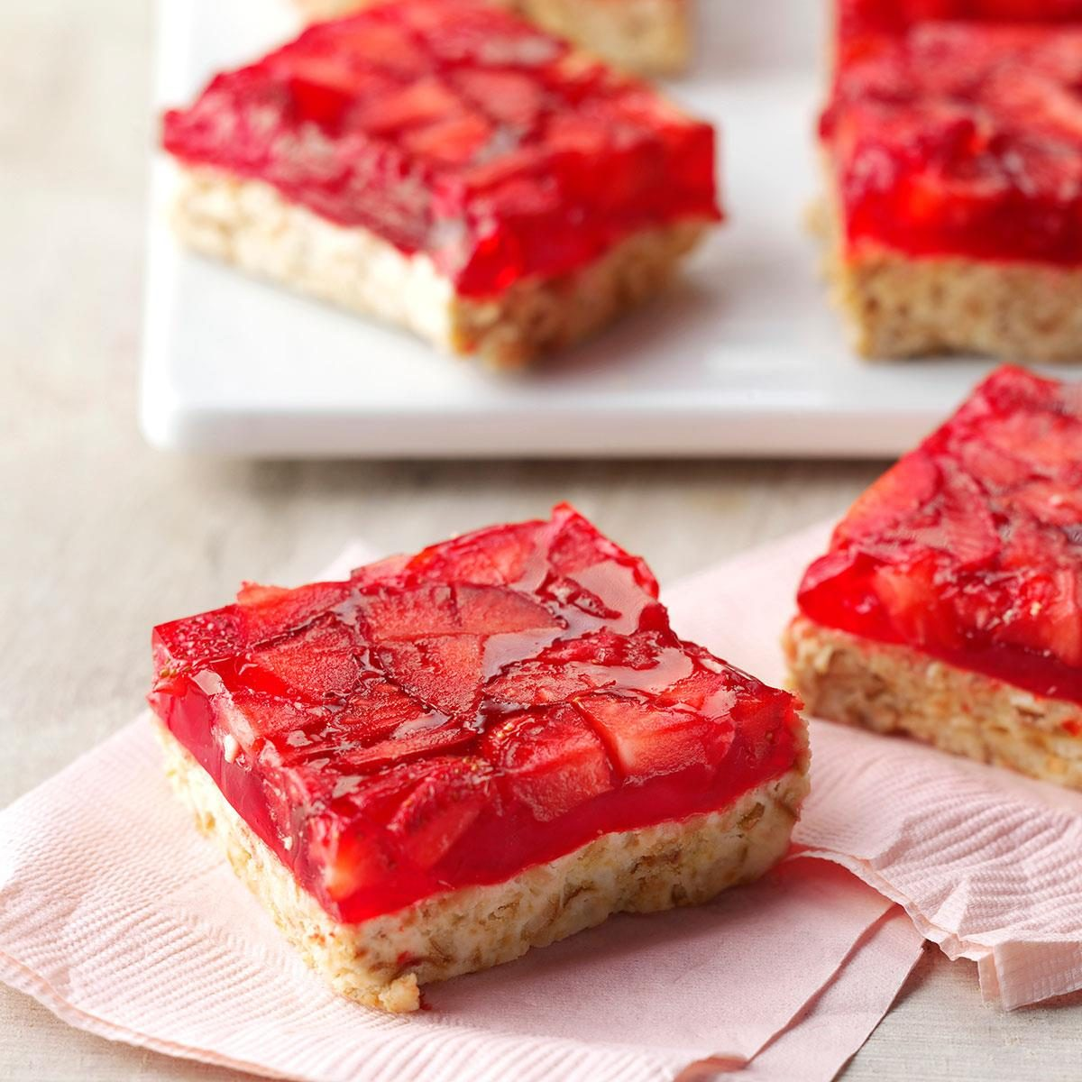 Strawberry-Lime Bars recipe