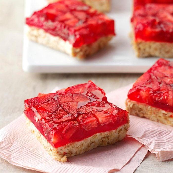 Strawberry-Lime Bars recipe