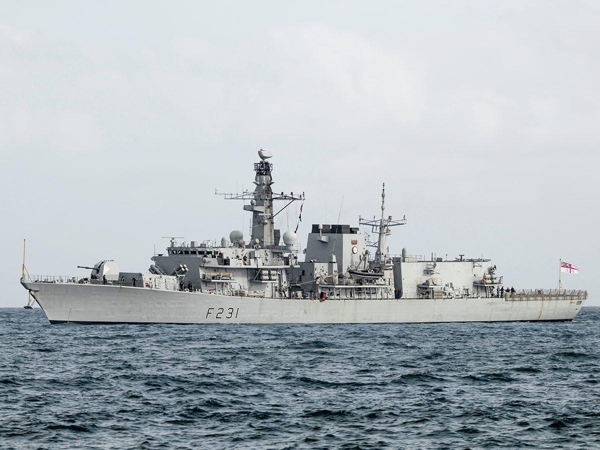 Good news - the hero of HMS Argyll